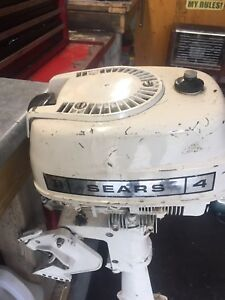 4HP SEARS BOAT MOTOR
