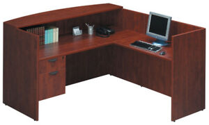 OFFICE FURNITURE - 4 complete sets of matching office furniture