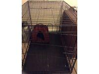Extra large animal/dog cage