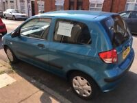 Hyundai Getz for sale very clean inside and out side long MOT low mileage