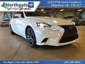 2016 Lexus IS 350 F Sport, Nav, Leather, AWD, Heated Seats