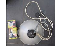 LARGE HEAT LAMP for CHICKS POULTRY, PUPPIES, REPTILES etc