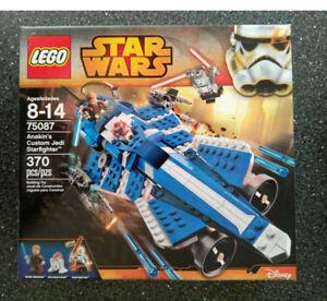 BNIB - Lego Star Wars Anakin's Custom Jedi Star Fighter