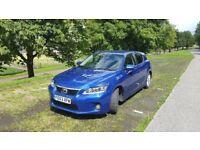 Lexus CT 200H Luxury 2013 free road tax! low milage!