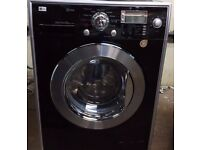87 LG F1406DSP6 8kg 1400 Spin White LCD Silent Steam Washing Machine 1 YEAR GUARANTEE FREE DEL N FIT