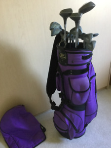 Golf Club - Ladies Left Handed and Golf Bag