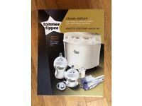 NEW - Tommee Tippee Electric Steriliser Starter Set