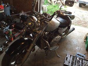 1999 Kawasaki nomad 1500 project