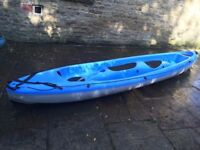 BIC Tobago Sit on Top Kayak with 2 Paddles included - Excellent Condition