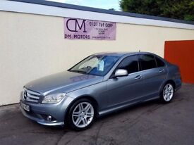 2008 MERCEDES C200 CDI AMG SPORT NATIONWIDE DELIVERY CARD FACILITY WARRANTY PART EX AVAILABLE