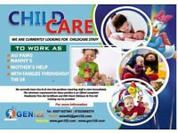 Live Out Aupair Mothers Help required ASAP in Surrey, Borehamwood, Bromley and Romford