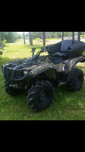 Yamaha 700 grizzly four-wheeler great shape ready to ride