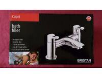 BRISTAN CAPRI BATH FILLER TAP (CAP BF C) CHROME PLATED BRAND NEW IN BOX