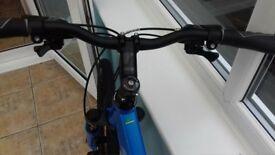 Ladies Carrera crossfire mountain bike