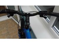 Ladies Carrera crossfire mountain bike