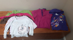 3T girls sweaters and long sleeve tees