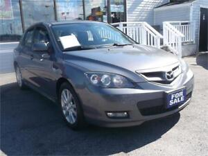 2008 MAZDA3 GT !!! WOW ONLY 149,000 KMS !! AUTO !! LOADED !!