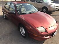 1998 PONTIAC SUNFIRE SE ONLY  89,000  KM!  CERTIFIED $2995 London Ontario Preview