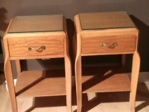 Bedside tables (2)