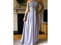 Dove grey little mistress formal dress