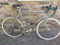 SILVER French Vintage road racing bike LONGWAY frame size 23inch - 14 speed, serviced WARRANTY