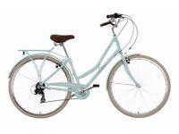 Pendleton Somerby Hybrid Bike Mint & Basket - Womens Classic retro vintage dutch shopper bicycle