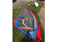 Sailworks 4.7 windsurf sail