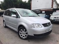 Volkswagen Touran 1.9 TDI 6 Speed Manual Full Service History 1 Owner From New 2 Keys 4 New Tyres