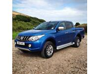 17 17 Mitsubishi L200 2.4 Di-D Warrior Electric Blue