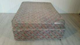 Layezee Double Divan Bed with 4 Drawers