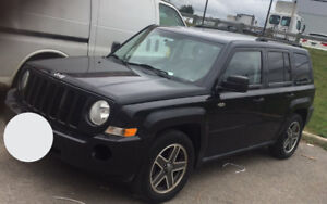 2009 Jeep Patriot SUV Black with 133km only