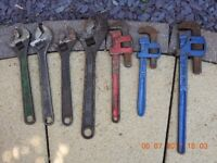 A LARGE COLLECTION OF ASSORTED SPANNERS
