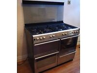 Diplomat 110cm Dual Fuel Range cooker - Can deliver if needed