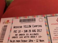 V FESTIVAL WEEKEND WITH CAMPING TICKET - MAKE ME AN OFFER !!!!
