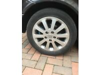 SET OF ALLOY WHEELS OFF VAUXHALL ASTRA FOR SALE