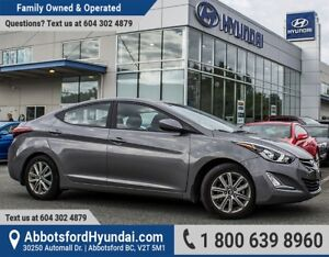 2014 Hyundai Elantra GLS CERTIFIED ACCIDENT FREE & ONE OWNER