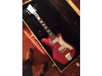 Eastwood Airline 2P Reissue (Red) w/ deluxe hard case