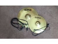"Alesis Surge 16"" Trigger Ride & Surge 13"" Crash"
