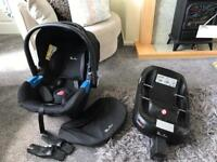 Silver Cross Simplifix car seat and IOS fix