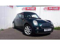 2001 51 MINI ONE 1.6 IN BRITISH RACING GREEN,GREAT EXAMPLE,PANARAMIC ROOF.2 KEYS