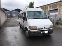 Renault Master Campervan motorhome conversion 2002