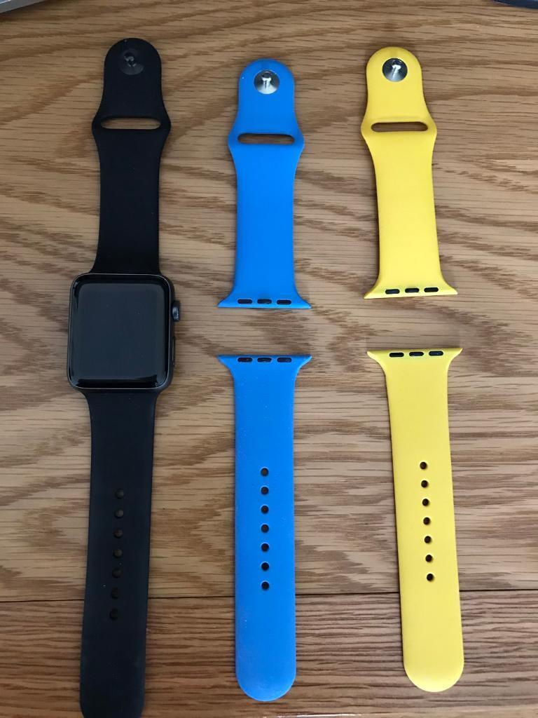 Apple Watch Series 2 42mm For Salein Kirkby in Ashfield, NottinghamshireGumtree - Apple Watch Series 2 42mm watch for sale with 2 extra straps. The Watch is in very good condition. Im looking for £280 but will listen to sensible offers