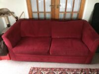 Good quality Sofa Bed with sprung frame and mattress