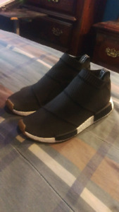 Adidas nmd city sock primeknit black brand new  9.5