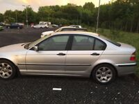 BMW 318i Silver, Excellent condition with a full years Mot included