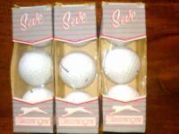 Brand New Slazenger 'Seve' Golf Balls