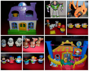 Fisher Price Little People, Circus, Dollhouse, Buzz Lightyear