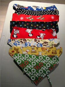 FOR SALE:  Pet Bandanas and Blankets