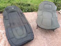 X2 adjustable fishing beds for camping etc can post