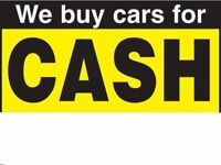 Cash for your car today up to £2000 paid quick collection